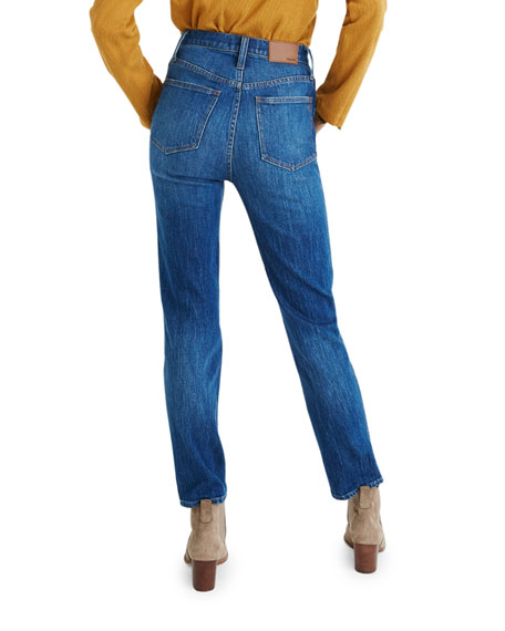 Image 2 of 4: Madewell Classic Straight Jeans w/ Yoke - Inclusive Sizing