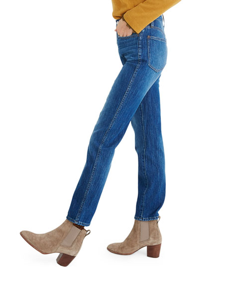 Image 3 of 4: Madewell Classic Straight Jeans w/ Yoke - Inclusive Sizing