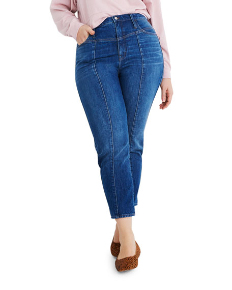 Image 4 of 4: Madewell Classic Straight Jeans w/ Yoke - Inclusive Sizing
