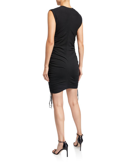 Image 2 of 2: alexanderwang.t Wash & Go Twisted Jersey Dress with Ties