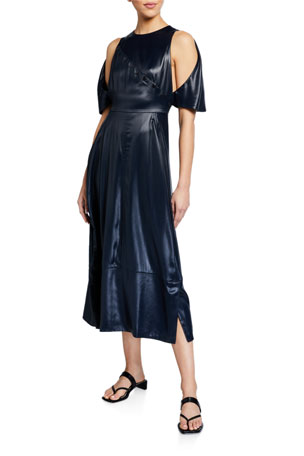 3.1 Phillip Lim Cape Dress with Snaps