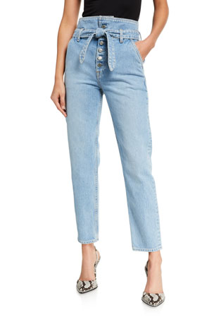 GRLFRND Emery Skinny Ankle Jeans