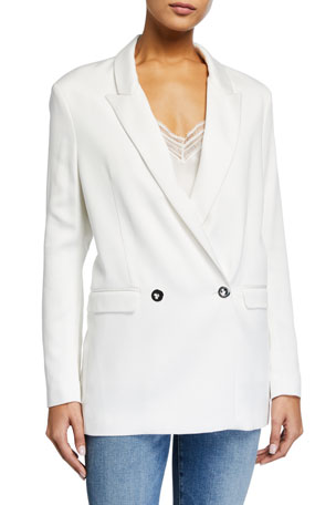 Iro Kitch Double-Breasted Blazer