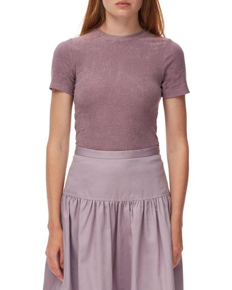 Tibi Dry Loop Terry Baby T-Shirt