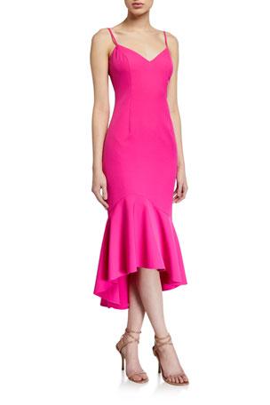 Bardot Lisandra High-Low Midi Dress