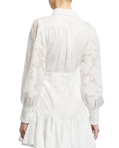 Bardot Maisy Long-Sleeve Mini Dress