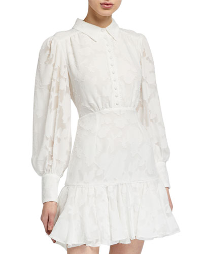 Maisy Long-Sleeve Mini Dress