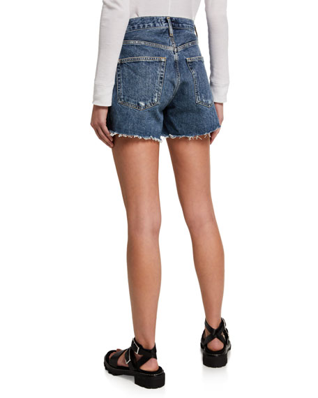 Image 2 of 3: AGOLDE Reese Denim Shorts