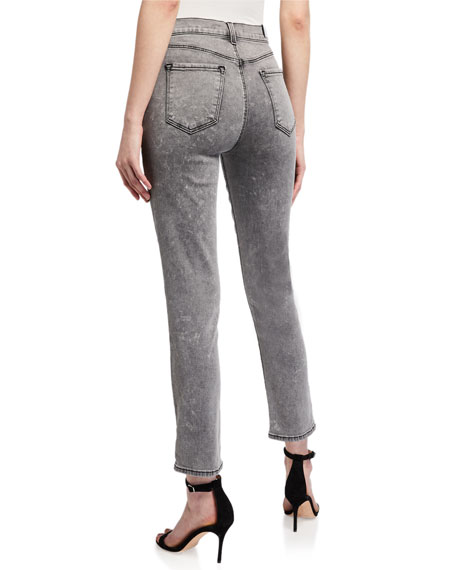 Image 2 of 3: J Brand Ruby High-Rise Cropped Cigarette Jeans
