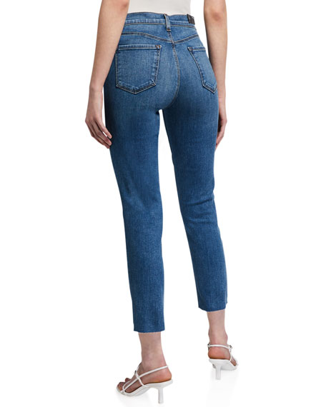 Image 2 of 3: J Brand Ruby High-Rise Crop Cigarette Jeans