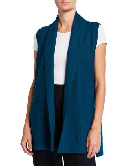 Eileen Fisher Boiled Wool Jersey Vest