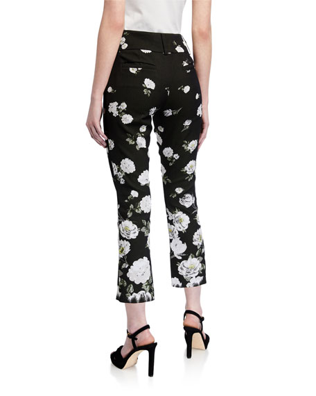 Image 2 of 3: Alice + Olivia Stacey Slim Ankle Pants