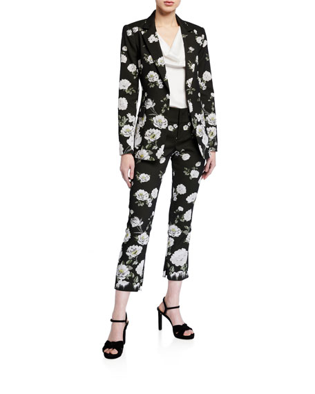 Image 3 of 3: Alice + Olivia Stacey Slim Ankle Pants