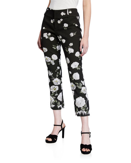 Image 1 of 3: Alice + Olivia Stacey Slim Ankle Pants