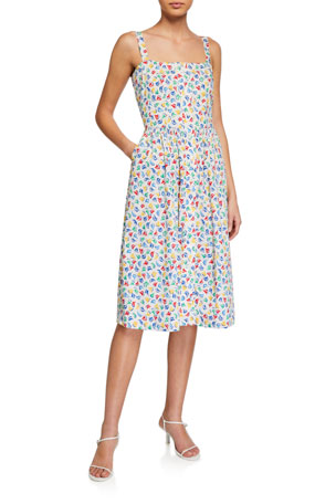 HVN Laura Cotton Dress