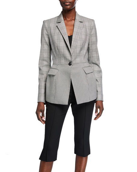 Image 2 of 3: Veronica Beard Suri Peplum Jacket