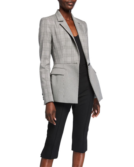 Image 1 of 3: Veronica Beard Suri Peplum Jacket