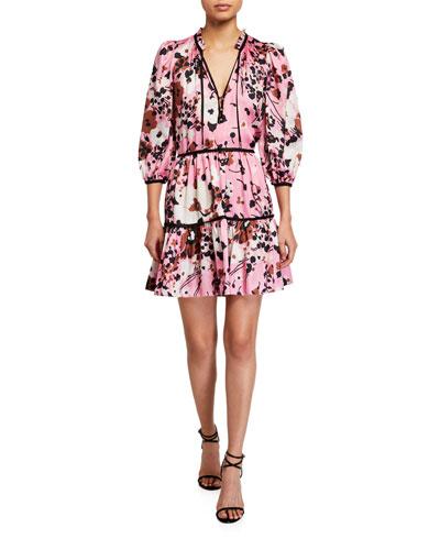 Hawken Floral-Print Dress