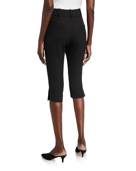 Veronica Beard Ward Slim Cropped Pants