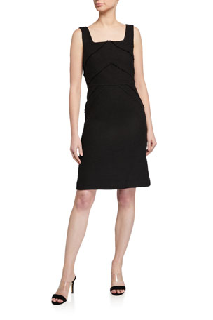 Lafayette 148 New York Jennette Burano Boucle Weave Sheath Dress