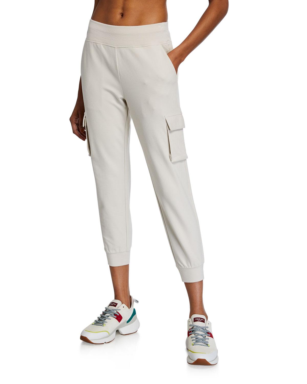 Alo Yoga 7/8 High-Waist Cargo Sweatpants