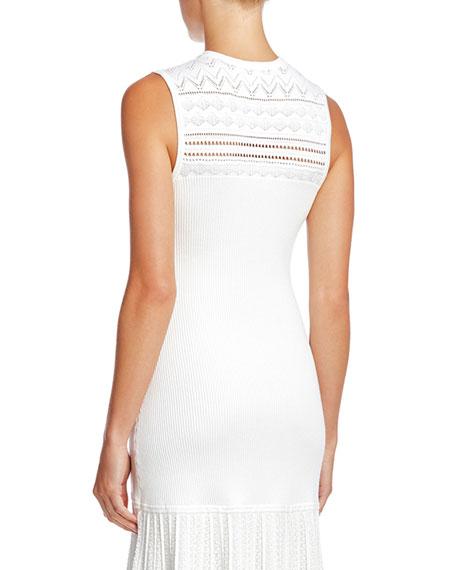 Bailey 44 Evalina Sleeveless Pointelle Sweater Dress