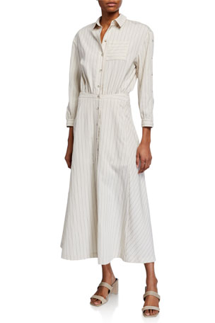 ba&sh Sami Long Shirtdress
