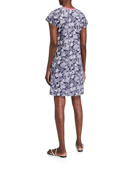 Bella Tu Bandana Cap-Sleeve Dress