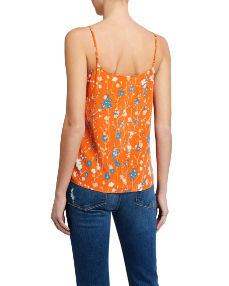 Image 2 of 2: Equipment Layla Floral Print Cami
