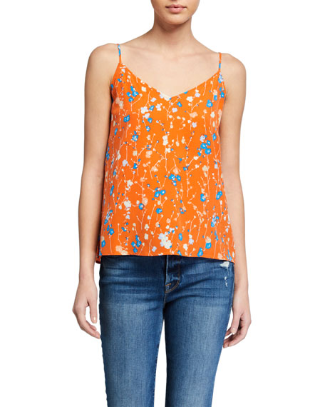 Image 1 of 2: Equipment Layla Floral Print Cami