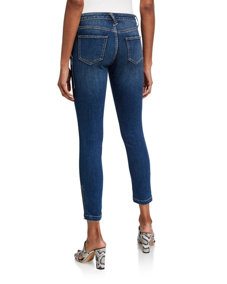 Image 2 of 3: Joie Park Cropped Skinny Jeans
