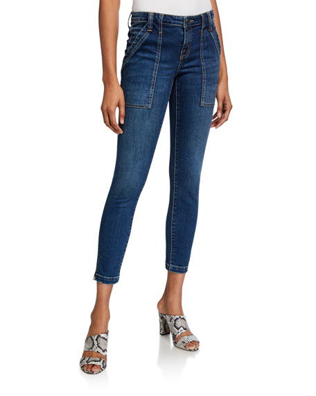 Image 1 of 3: Joie Park Cropped Skinny Jeans