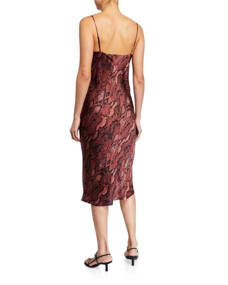 Image 2 of 2: L'Agence Jodie V-Neck Slip Dress