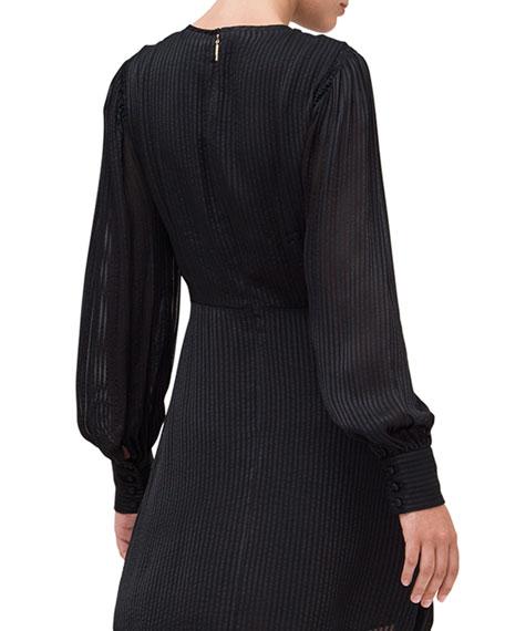 kate spade new york fluid stripe dress