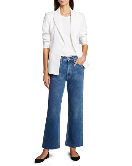 RE/DONE 70s Crop Boot-Cut Jeans