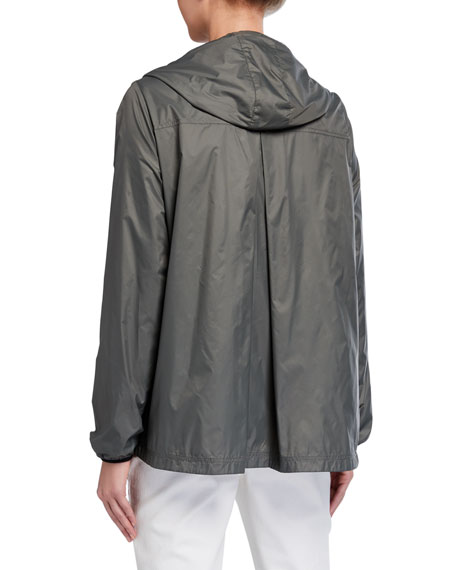 Image 2 of 2: Anatomie Astra Zip-Front Hooded Wind-Resistant Jacket