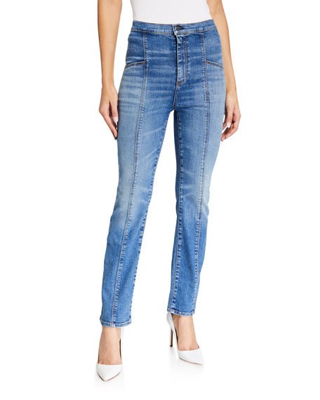 Image 1 of 3: Veronica Beard Jeans Carly High-Rise Kick Flare Jeans