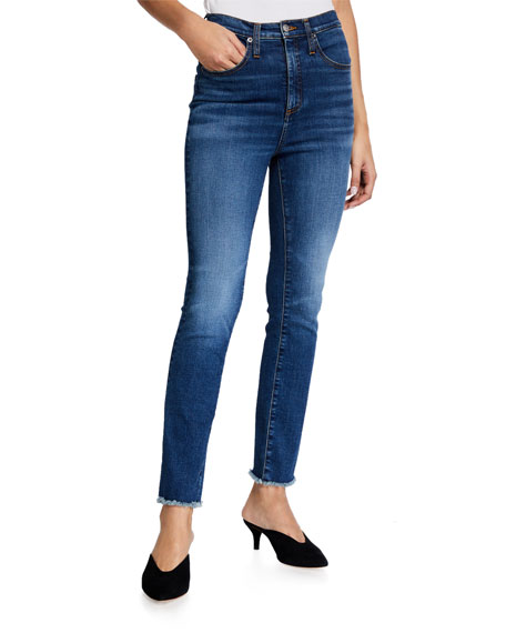 Veronica Beard Jeans Carly High-Rise Kick Flare Jeans