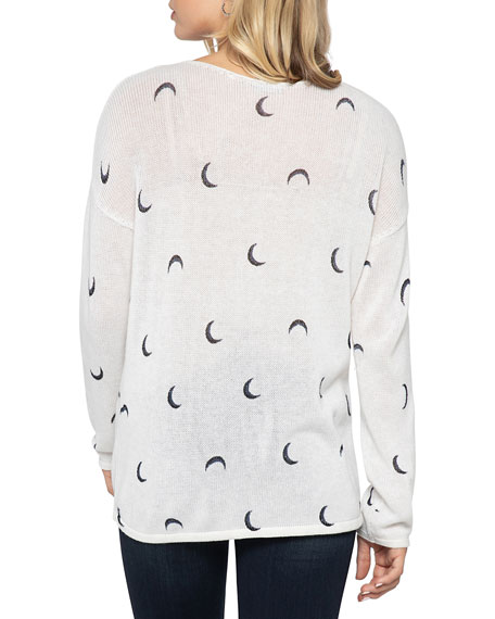 Image 3 of 3: NIC+ZOE Over The Moon Sweater
