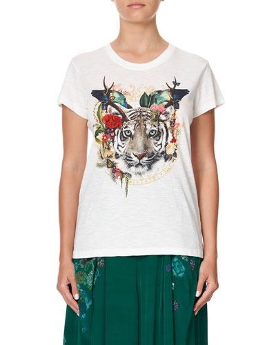 Slim-Fit Graphic T-Shirt