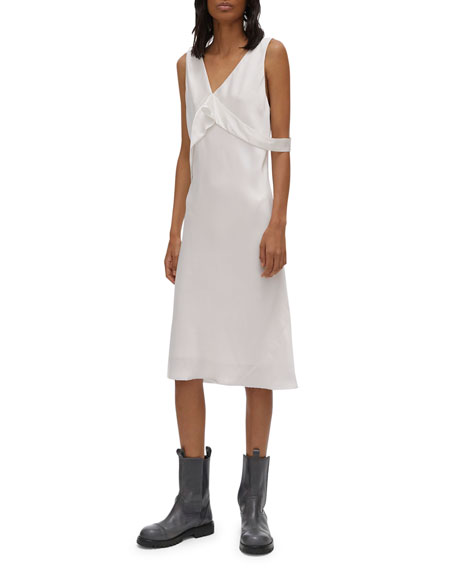 Helmut Lang Sash Dress