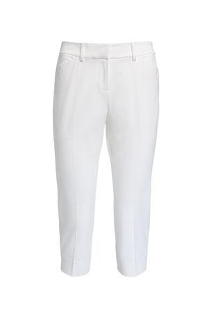 Lafayette 148 New York Manhattan Fundamental Bi-Stretch Skinny Capri Pants