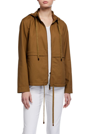 Lafayette 148 New York Joe Metropolitan Stretch Cotton Jacket