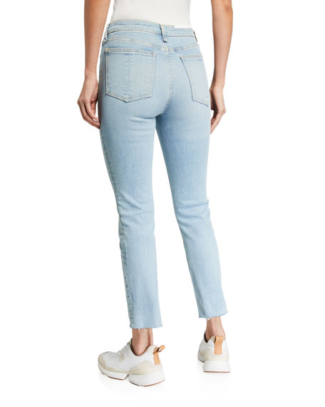 Image 2 of 3: Rag & Bone Nina High-Rise Ankle Cigarette Jeans