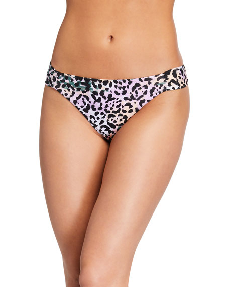 Veronica Beard Donna Animal-Print Bikini Bottom