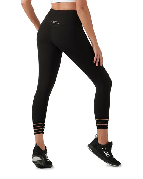 Lorna Jane Jagger Core Ankle-Biter Tights