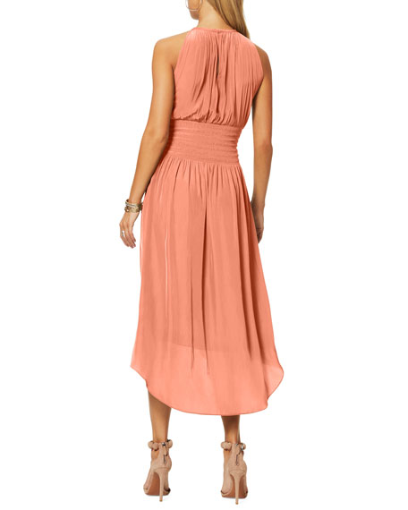 Ramy Brook Mel Studded Sleeveless Midi Dress