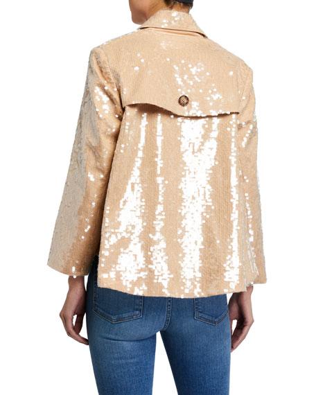 Veronica Beard Darya Sequined Jacket