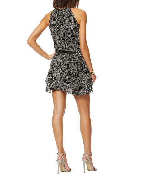 Ramy Brook Bitsy Printed Dress
