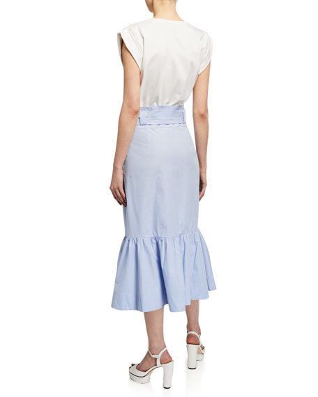 Veronica Beard Capri Combo Midi Dress